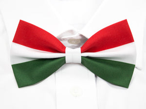 Hungarian Flag Pre-Tied Bow Tie
