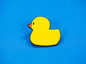 SECONDS Rubber Duck Enamel Pin