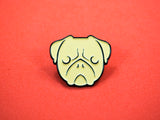 Pug Enamel Pin (DISCONTINUED)