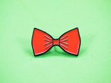 Orange Bow Tie Enamel Pin (DISCONTINUED)
