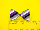 SECONDS Asexual Pride Bow Tie Enamel Pin