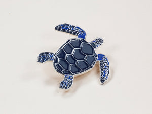 Sea Turtle Enamel Pin