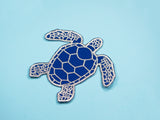 Sea Turtle Iron-On Patch