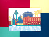 Liverpool Skyline A5 Greeting Card