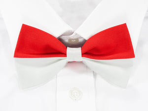 Indonesian Flag Pre-Tied Bow Tie