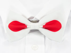 Japanese Flag Pre-Tied Bow Tie