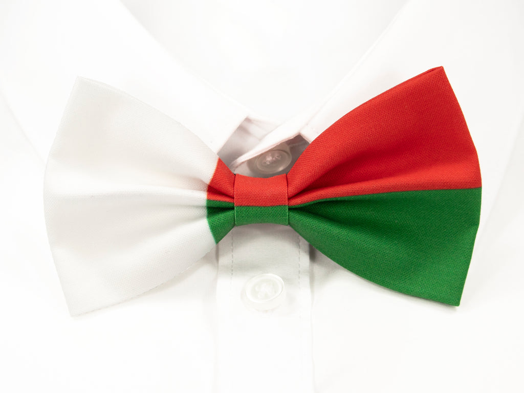 Madagascan Flag Pre-Tied Bow Tie