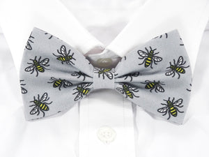 Manchester Worker Bee Pre-Tied Bow Tie