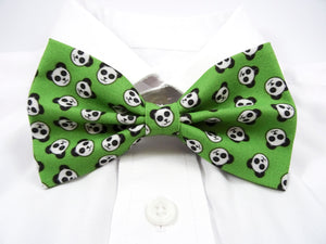 Panda Faces Pre-Tied Bow Tie (DISCONTINUED)