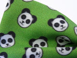 DISCONTINUED Panda Faces Pre-Tied Bow Tie