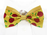 Pepperoni Pizza Pre-Tied Bow Tie (DISCONTINUED)