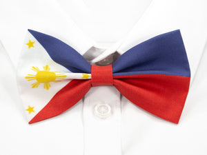 Philippines Flag Pre-Tied Bow Tie