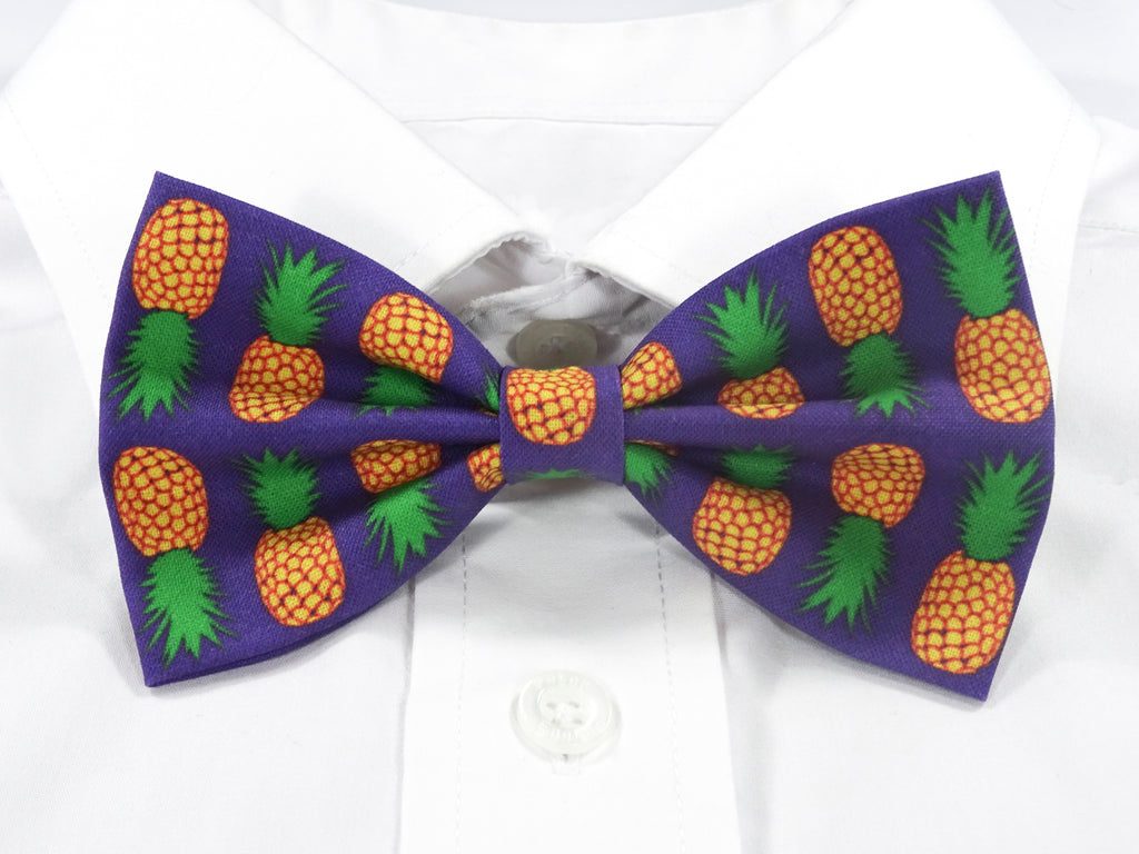 Pineapples Pre-Tied Bow Tie