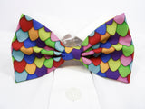 Rainbow Dragon Scales Pre-Tied Bow Tie (DISCONTINUED)