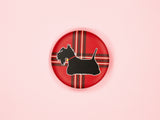 Scottie Dog 38mm Button Badge