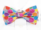 Smiley Faces Pre-Tied Bow Tie (DISCONTINUED)