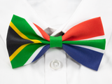 South African Flag Pre-Tied Bow Tie