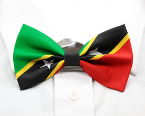 Saint Kitts and Nevis Flag Pre-Tied Bow Tie