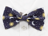 Suns and Moons Pre-Tied Bow Tie