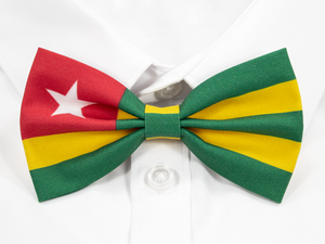 Togolese Flag Pre-Tied Bow Tie