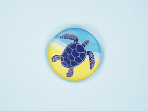 Sea Turtle 38mm Button Badge