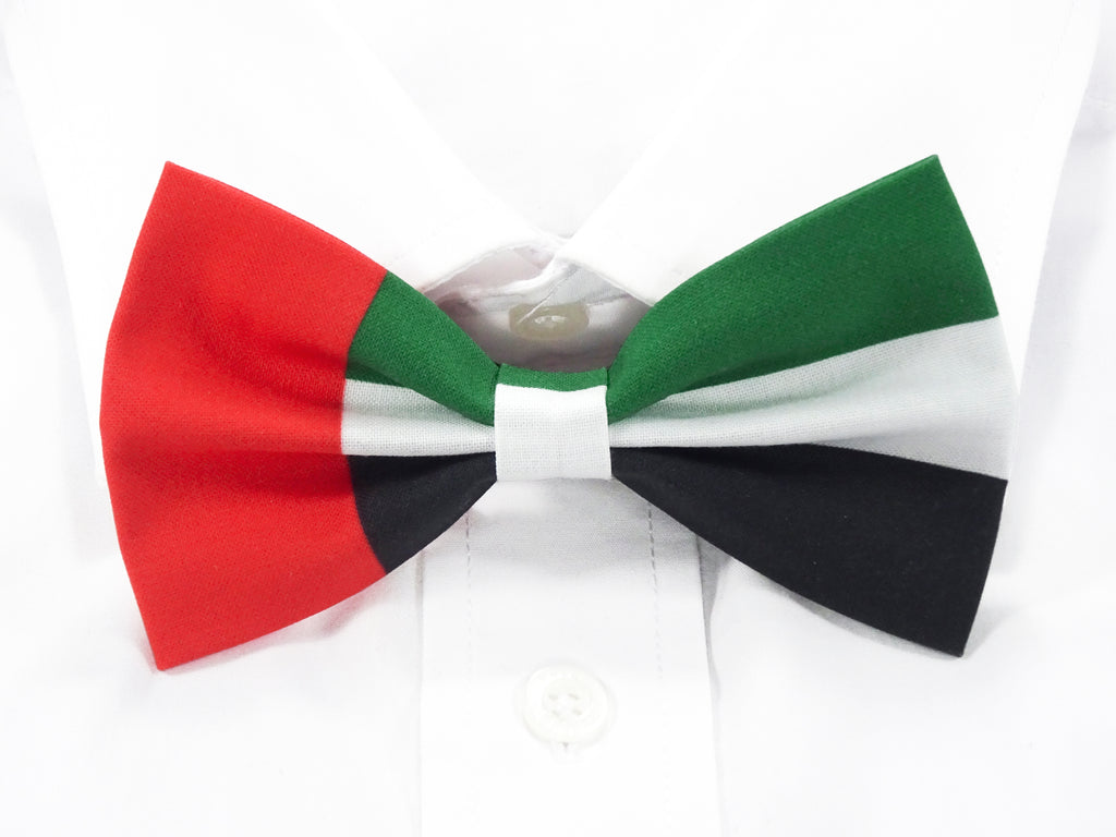 United Arab Emirates Flag Pre-Tied Bow Tie
