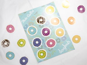A5 Doughnuts Sticker Sheet