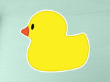 Rubber Duck 10cm Vinyl Sticker