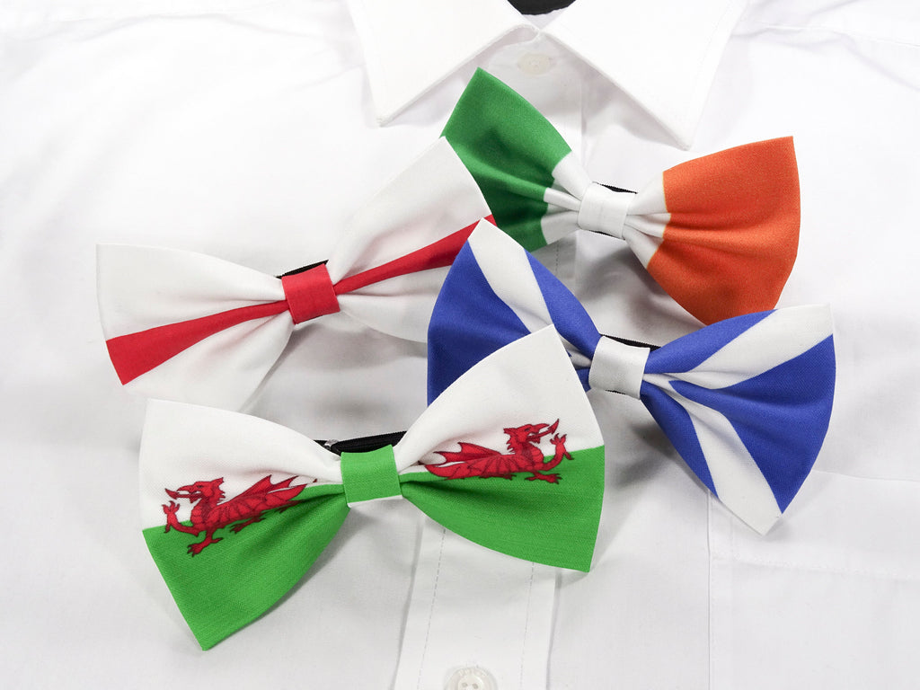 English Flag Pre-Tied Bow Tie