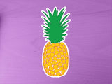 Pineapple 10cm Vinyl Sticker