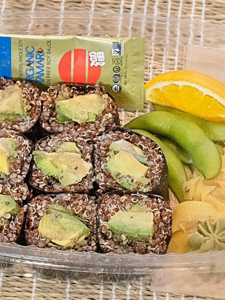 Avocado Quinoa Roll Sushi