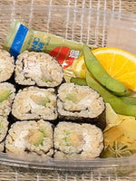 California Crab Roll with Brown Rice Sushi