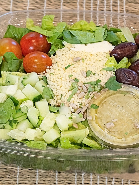 Mediterranean Grain Bowl Salad
