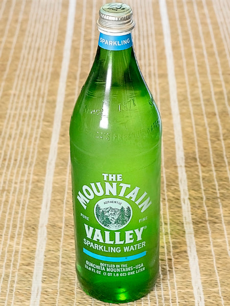 The Mountain Valley Spring Sparkling Water