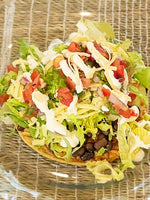 Tostada with Protein