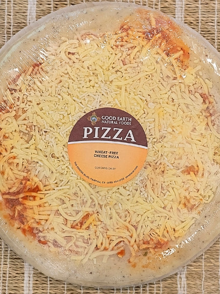 "12"" Take and Bake Wheat-Free Cheese Pizza"