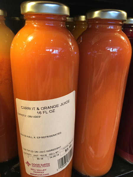 Carrot & Orange Juice