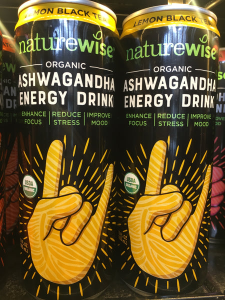 Naturewise Organic Lemon Black Ashwagandha Tea