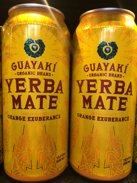Guayaki Organic Yerba Mate Orange Exuberance Drink