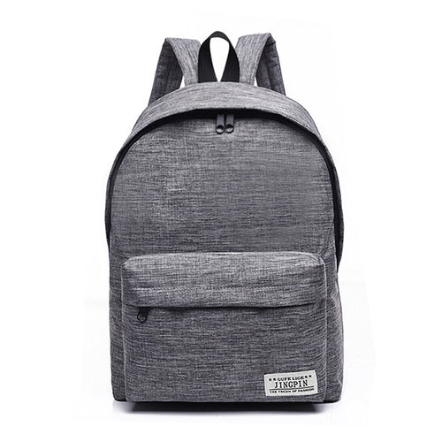High Quality Canvas Backpack