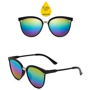 Retro Luxury Plastic Sunglasses