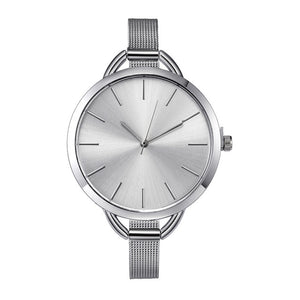 Stainless Steel Female wristwatch