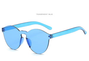 Plastic Frame Sunglasses for Women
