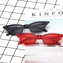 Retro Plastic Frame Fashion Sunglasses