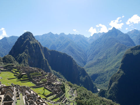 Machu Picchu on a clear day by Root Republic