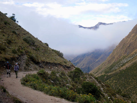 Hikers on the Salkantay Trail by Root Republic