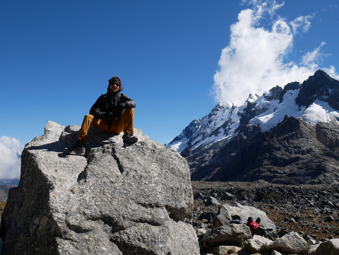 Root Republic Co-Founder Nate Saft at Salkantay Pass