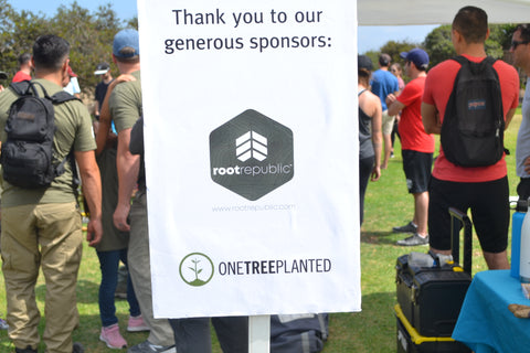 Sponsors: Root Republic and One Tree Planted