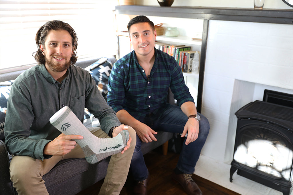 Root Republic Co-Founders Billy Fernandez and Nathan Saft