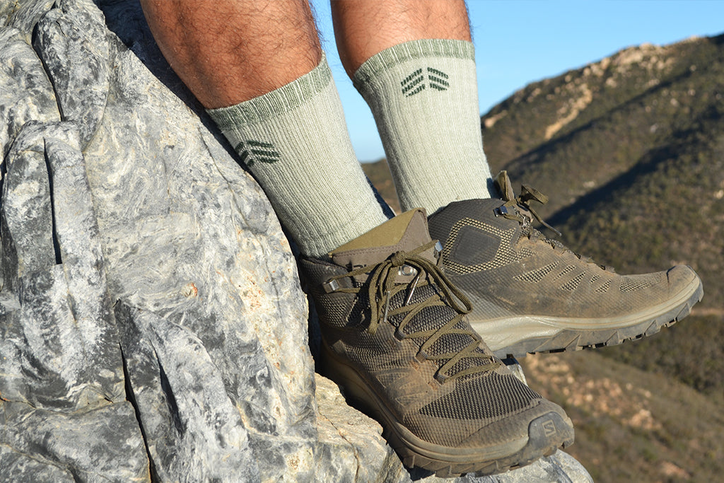 Root Republic Best Merino Wool Socks Hiking in San Diego